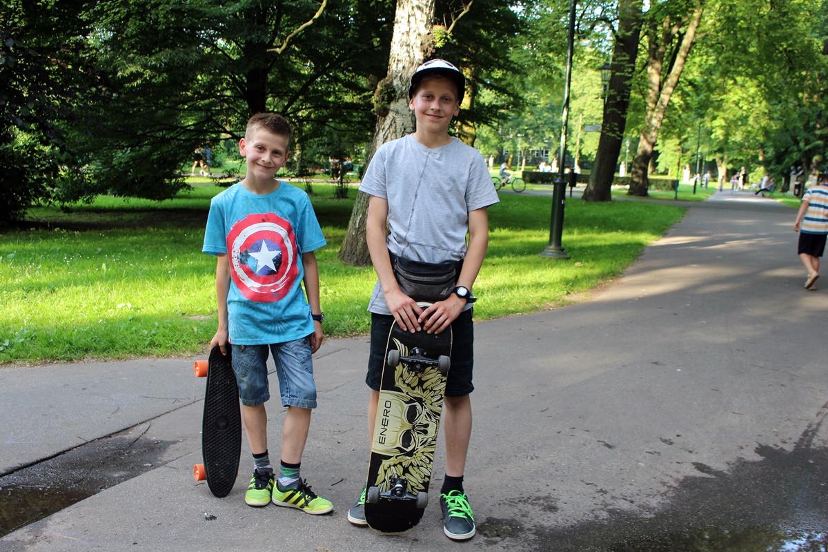 skate park w parku Jordana